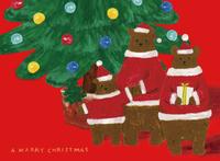 Parent-child of Christmas bear [4222509] Bear
