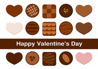 Valentine's Day chocolate illustrations [4225252] chocolate