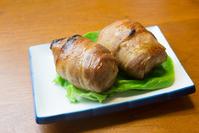 Kyushu Miyazaki meat winding rice balls Stock photo [4227421] Meat