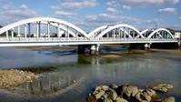 Three bridges across the Saitagawa Stock photo [4277494] Three