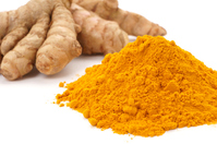 Powder and turmeric up Stock photo [4277590] Turmeric