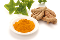 Powder and turmeric and Aoba Stock photo [4277597] Turmeric
