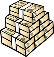 Wad of money [4279710] Wad