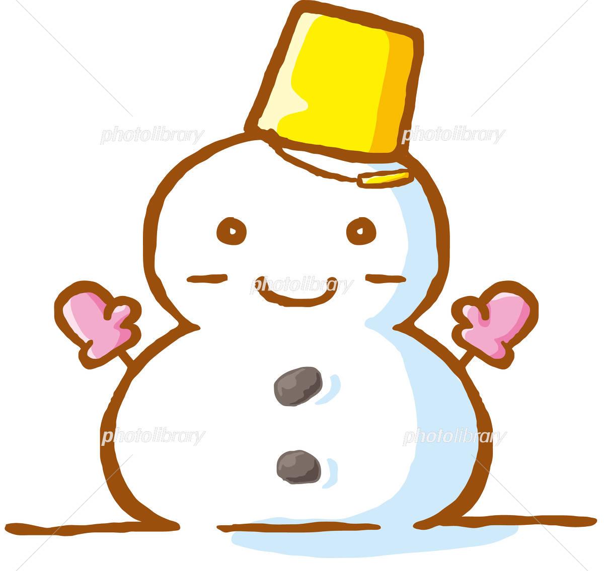 雪だるま イラスト イラスト素材 4364202 無料 フォトライブラリー