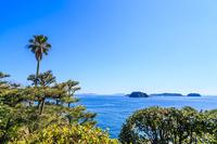 It is seen from the Himakajima Tsukumijima and Shinojima Stock photo [4353356] Himakajima