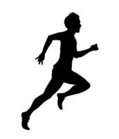 Runner silhouette [4353559] runner