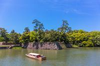 Matsue Horikawa pleasure boat Stock photo [4361594] Horikawa