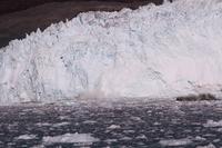 Glacier collapse Greenland Stock photo [4365351] Blue