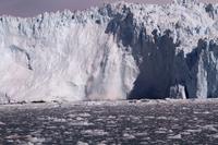 Glacier collapse Greenland Stock photo [4365354] Blue