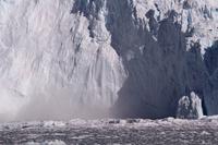 Glacier collapse Greenland Stock photo [4365355] Blue