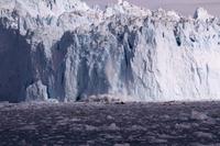 Glacier collapse warming Greenland Stock photo [4365365] Blue