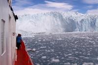 Icebreaker glacier in Greenland Stock photo [4365368] North