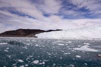 Ice floe glacier Greenland Stock photo [4365370] world