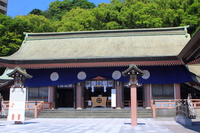 Terukuni shrine hall of worship Stock photo [4432564] Terukuni