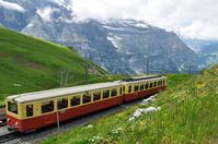 Mountain railway _ Menrihhyen _ Switzerland Stock photo [4436154] Switzerland