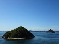 Kozuchijima viewed from Osaki nose Stock photo [4436758] Shikoku