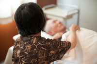 Nursing care and nursing image Stock photo [4437232] Old