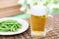 Beer and edamame Stock photo [4439104] beer