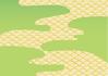 Green Japanese Pattern _ handle ID:4436008