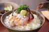 Rice with green tea sea bream rice with green tea ID:4436012
