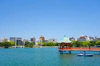 Fukuoka Ohori Park 浮見Do Stock photo [4519460] Landscape