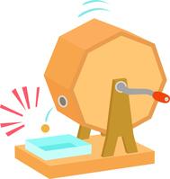 Garapon lottery machine and lottery balls [4521241] Garapon
