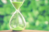 hourglass Stock photo [4526064] time