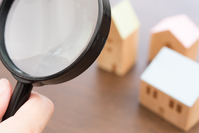 House and magnifying glass Stock photo [4593241] magnifying