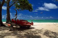 カイルアの砂浜
