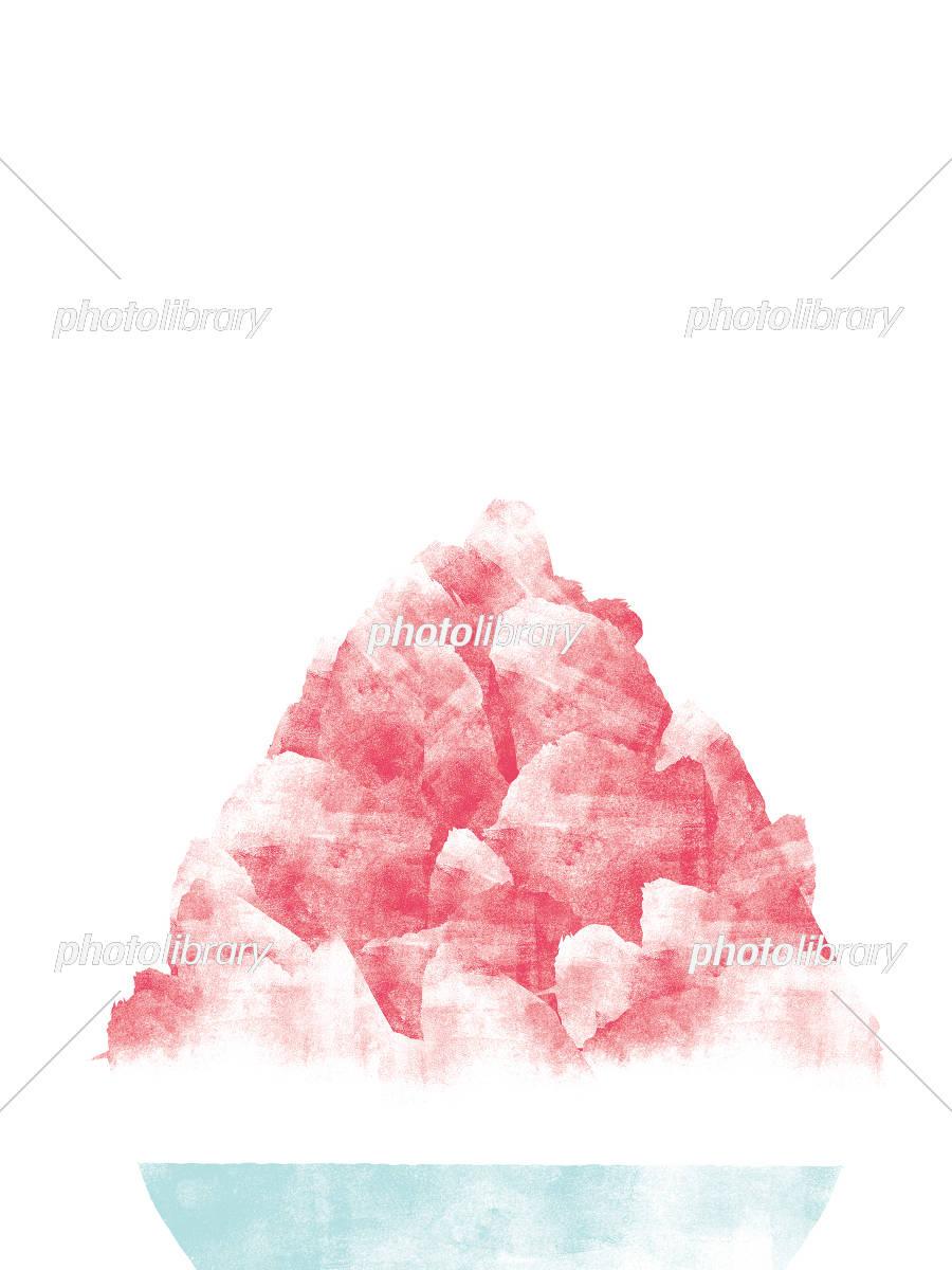 カラフルなかき氷いっぱい 無料イラスト素材素材ラボ