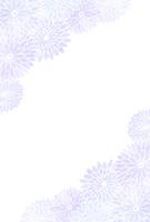 Mourning postcard chrysanthemum [4657287] chrysanthemum