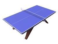 [3D CG] table tennis [4657867] Table