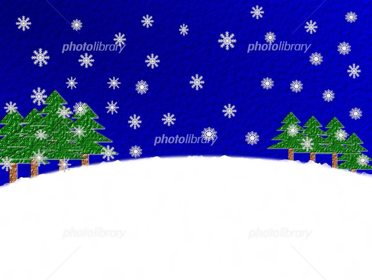 冬 雪 風景 イラスト素材 4720047 フォトライブラリー Photolibrary