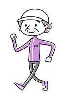 Sports: Walking to senior woman [4722926] Sport