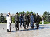Turkey: change the formula of the guards at the anıtkabir Stock photo [4805969] Turkey