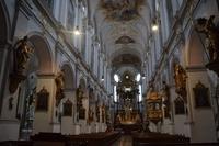 ドイツ ミュンヘン 聖ペーター教会 内装