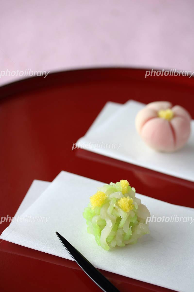 春の和菓子 写真素材 [ 4909148 ] - フォトライブラリー photolibrary