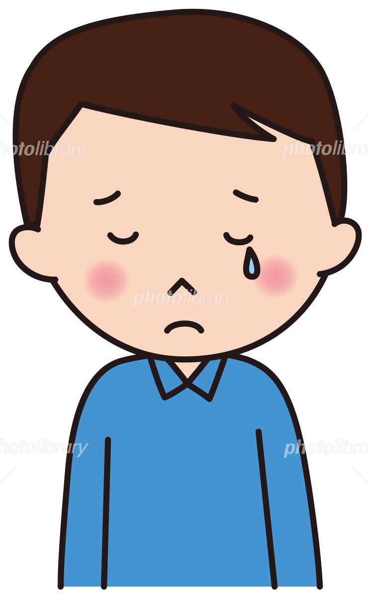 男性 表情 残念 ガッカリ 悲しい イラスト素材 4914673 フォト