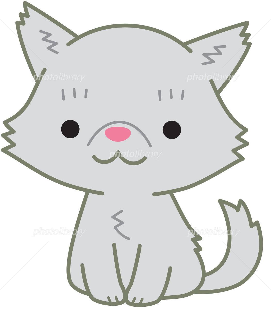 ペルシャ猫 グレー イラスト素材 [ 4914736 ] , フォトライブ
