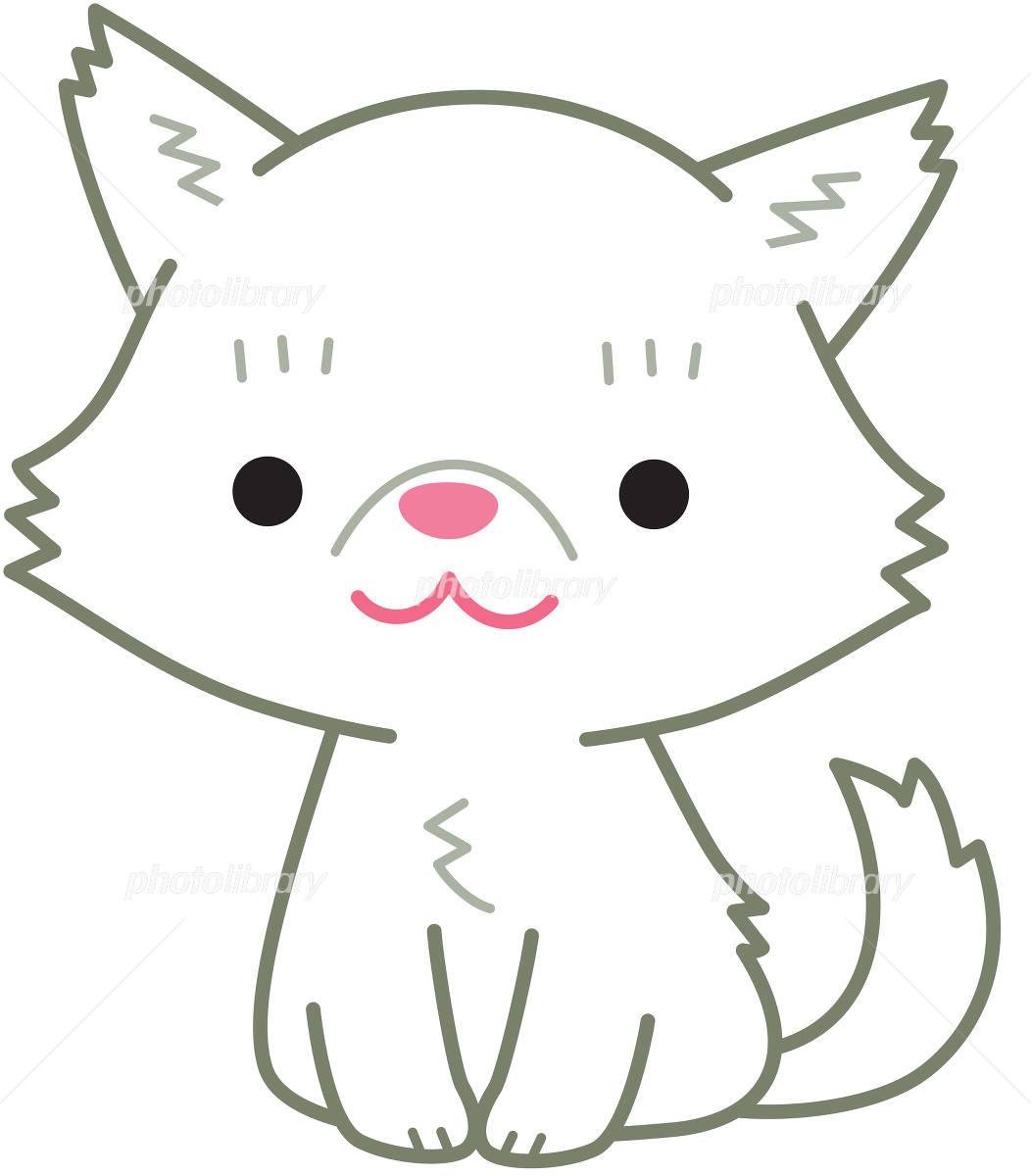 ペルシャ猫 白 イラスト素材 [ 4914758 ] , フォトライブラリー