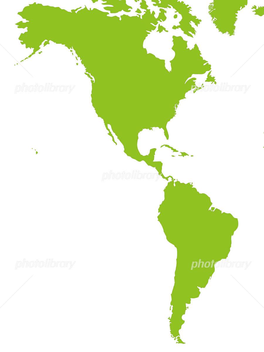 世界地図 南北アメリカ アメリカ合衆国 イラスト素材 4920298