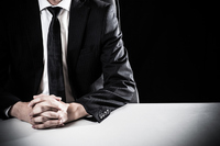 Dark businessman Stock photo [4914786] business