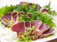 Seared bonito Stock photo [4915045] Seared