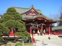 Hall of worship of Kasama Inari Shrine Stock photo [4921420] Kasama