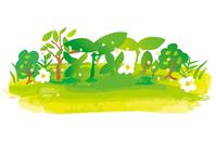 Watercolor ground Horizontal [5013143] Fresh