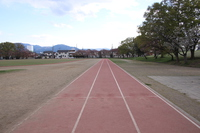 陸上サブ練習場 100メートル
