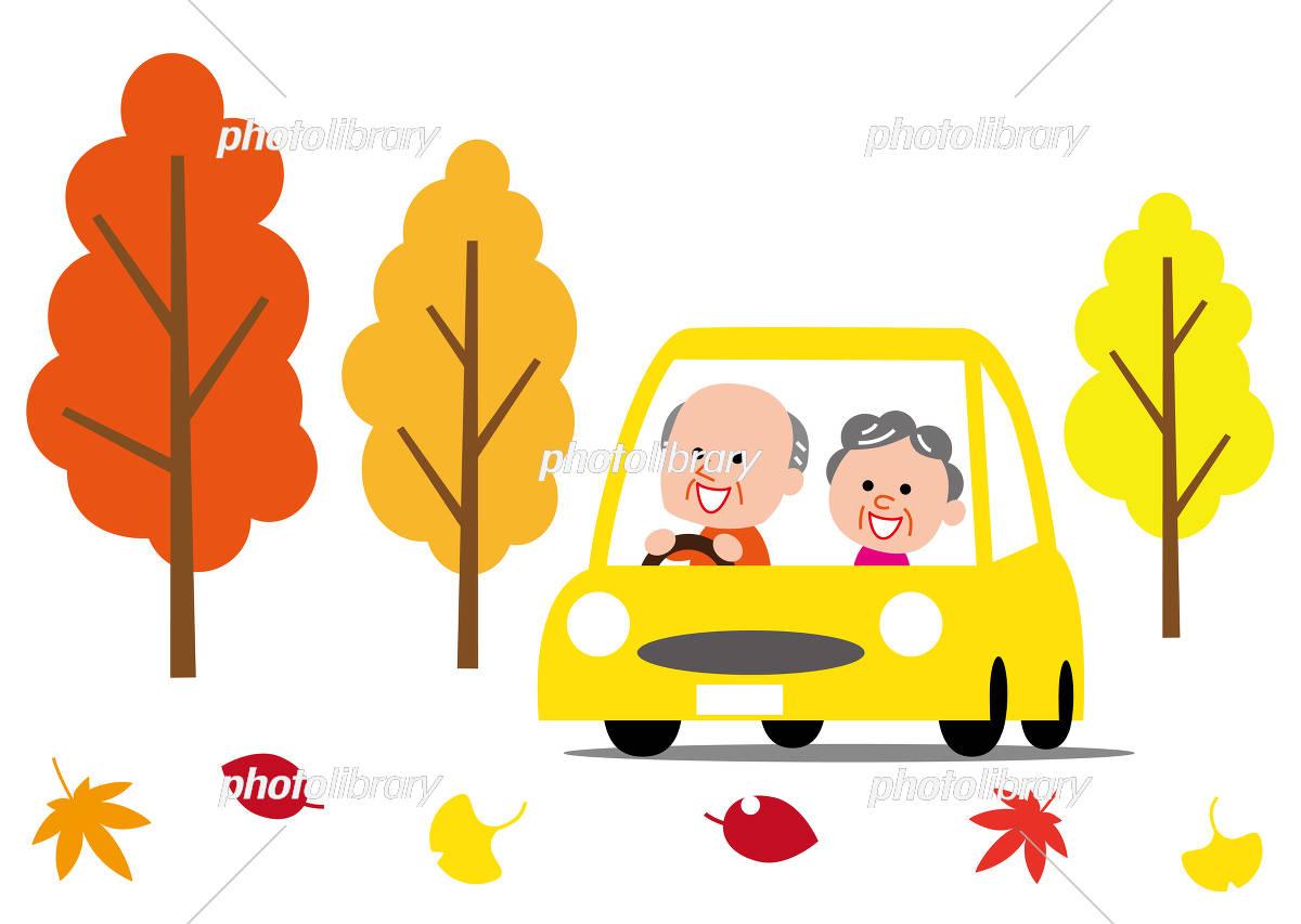 Fall Senior Drive イラスト素材