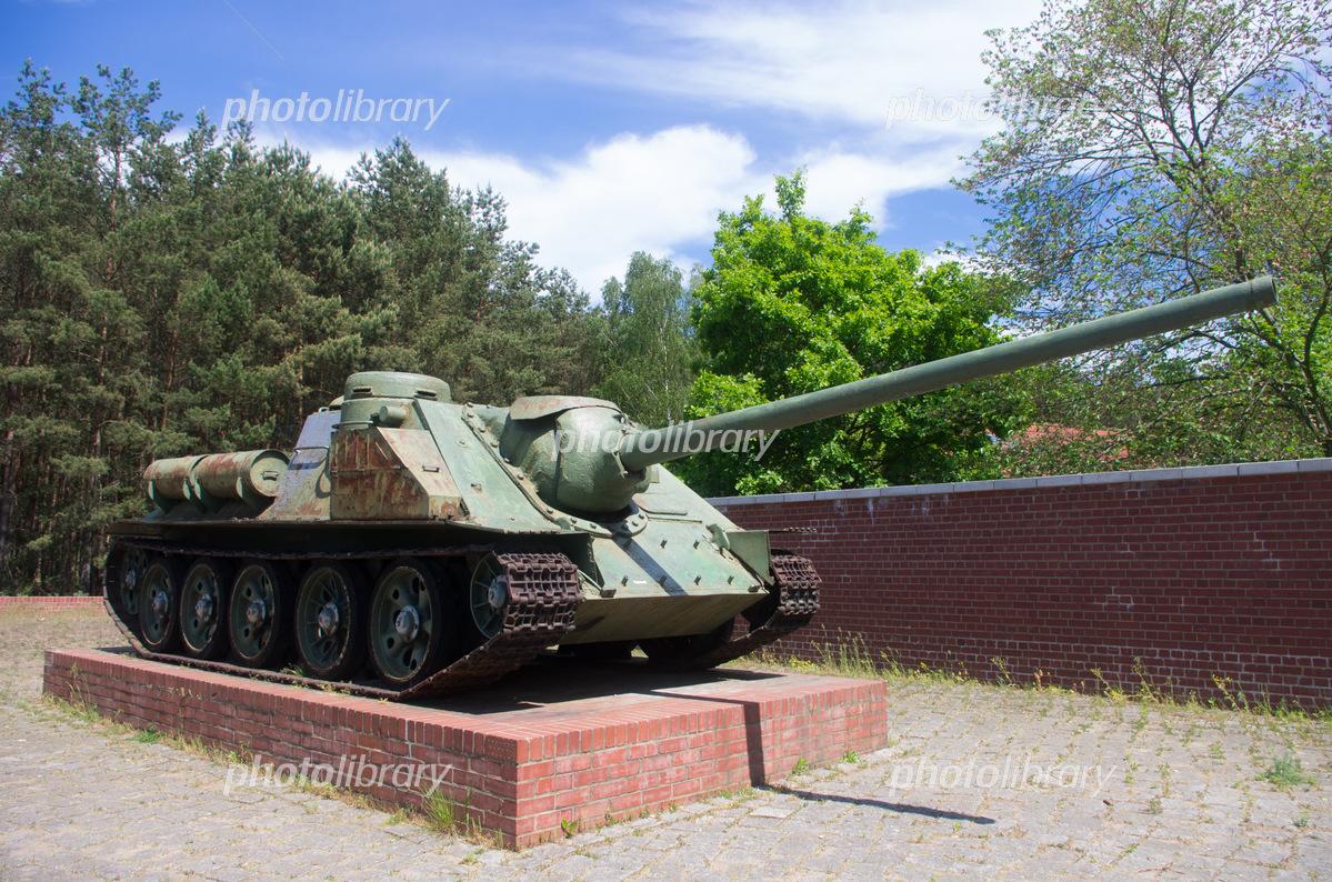 Tank near Ravensbrück concentration camp Photo