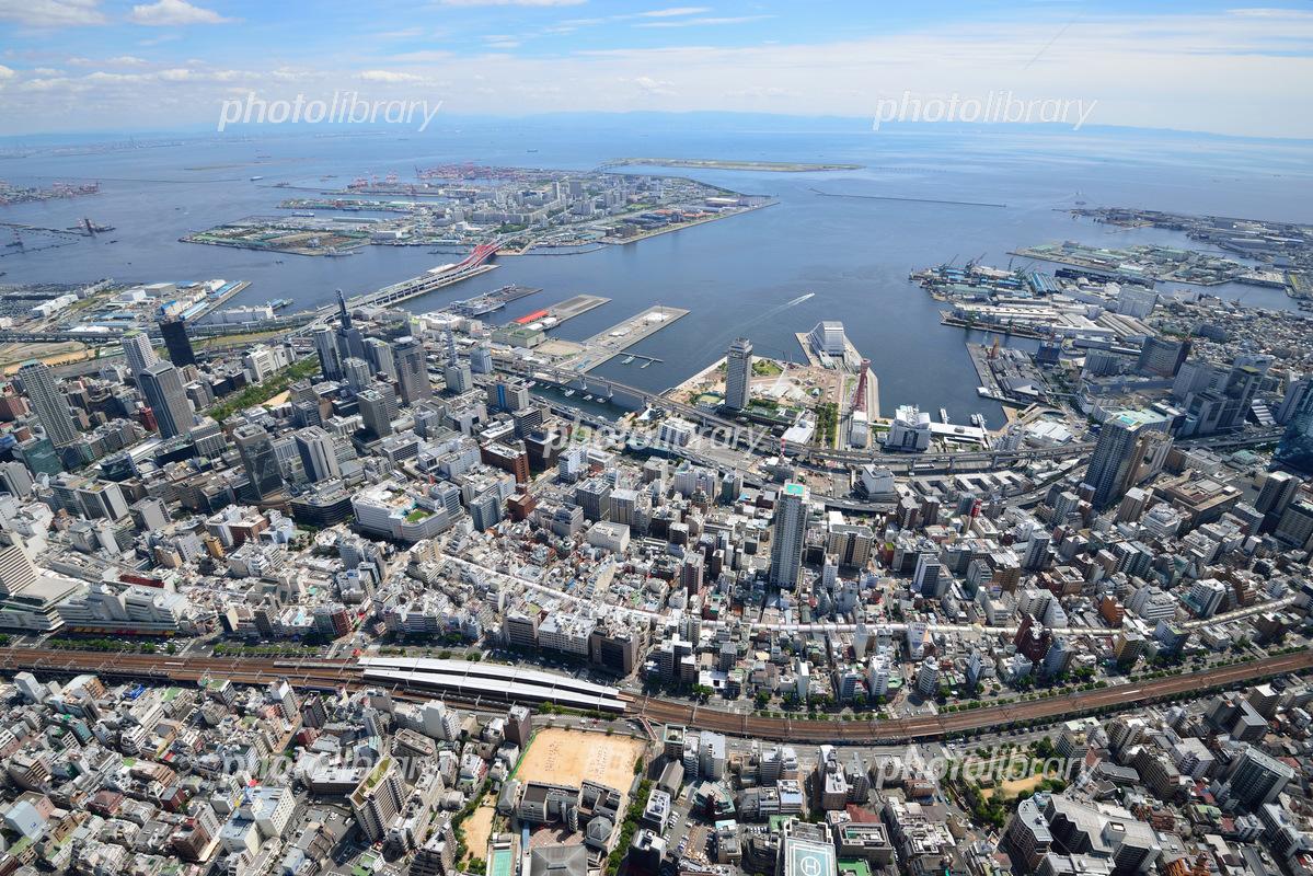 神戸市の航空写真の写真