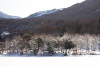 イラスト Lake Shirakaba in early morning winter(5112248)